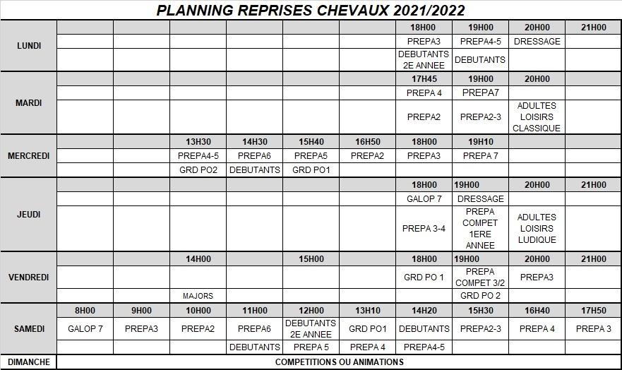 INSCRIPTIONS 2021/2022